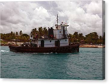 Tug Mark Canvas Print by Ken  Collette