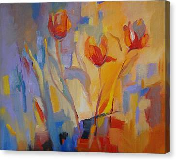 Tulip Song Canvas Print by Marty Husted
