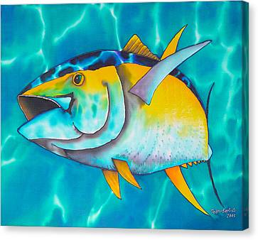 Tuna Canvas Print by Daniel Jean-Baptiste
