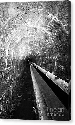 Tunnel Canvas Print by Gaspar Avila