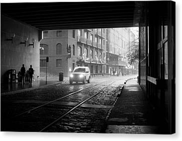 Canvas Print featuring the photograph Tunnel I by Lynn Palmer