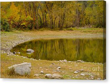 Tunnel Pond Canvas Print by Idaho Scenic Images Linda Lantzy