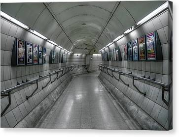 Tunnel Canvas Print by Svetlana Sewell