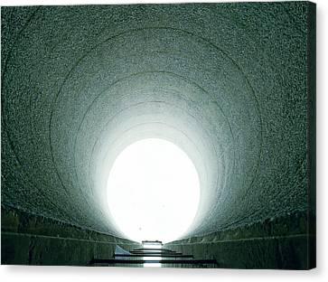 Tunnel Vision Canvas Print by Jan W Faul