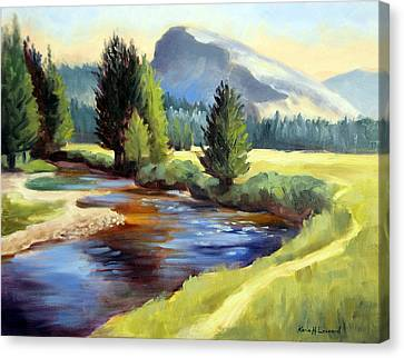Tuolomne Meadows Canvas Print by Karin  Leonard