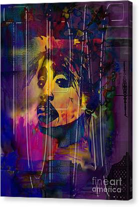 Tupac Canvas Print by Christine Mayfield