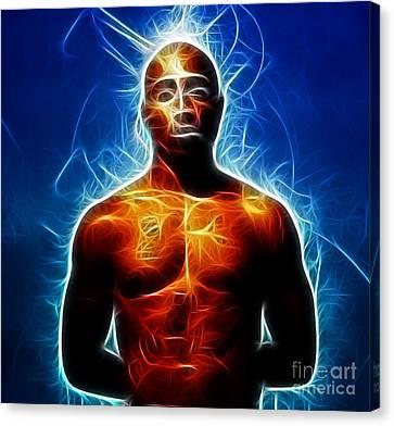 Tupac Shakur Canvas Print by Paul Ward
