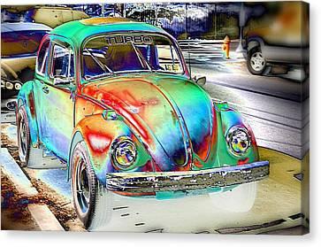 Turbo Bug Canvas Print