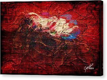 Turbulance Canvas Print by The Art Of JudiLynn