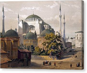 Turkey: Hagia Sophia, 1852 Canvas Print by Granger
