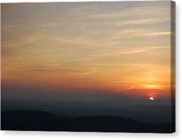 Turkey Heaven Sunset Canvas Print by Beverly Hammond