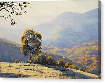 Turon Hills Canvas Print by Graham Gercken