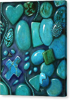 Turqouise  Canvas Print by Andrea Camp