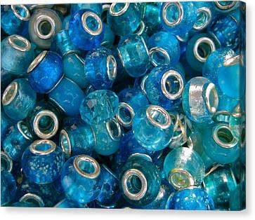 Turquoise Treasures Canvas Print