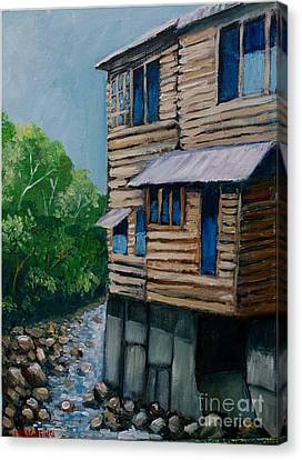 Turrialba's House Canvas Print