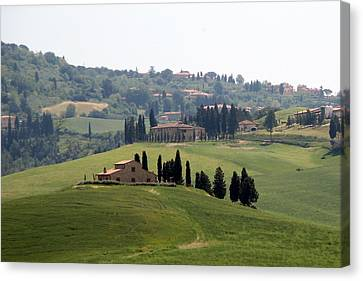 Canvas Print featuring the photograph Tuscany by Carla Parris