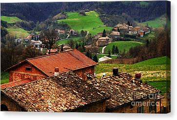 Tuscany Landscape 2 Canvas Print by Bob Christopher