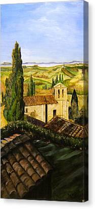 Tuscany Ll Canvas Print