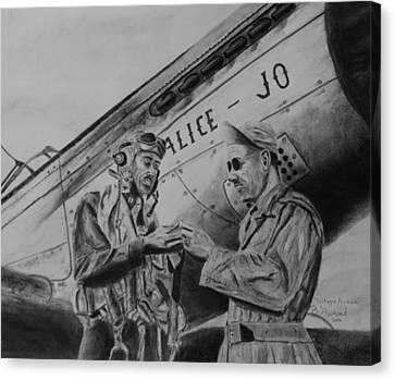 Tuskegee Airmen Canvas Print by Brian Hustead