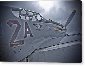 Tuskegee P-51 Canvas Print by Eric Miller