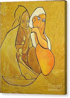 Tutu - Tu-two  Canvas Print by Geoffrey Mann