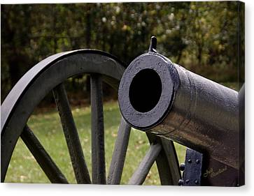 Twelve-pound Howitzer Canvas Print by Judi Quelland
