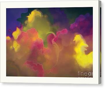 Twenty Clouds Canvas Print by David Klaboe
