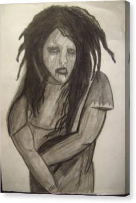 Twiggy Canvas Print by Brittney Wallace