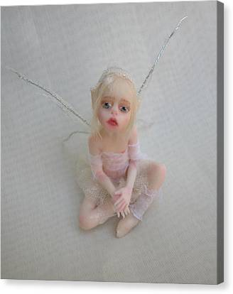 Twiggy Mae Fairy Canvas Print by Deborah Gouldthorpe