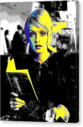 Twiggy Canvas Print - Twigs  by Chandler  Douglas