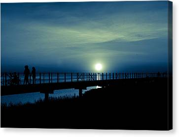 Canvas Print featuring the photograph Twilight  by Jason Naudi Photography