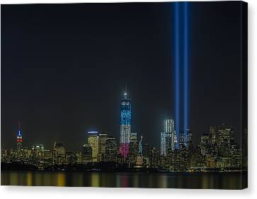 Twin Lights Canvas Print