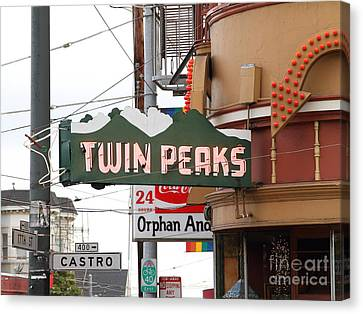Twin Peaks Gay Bar In San Francisco . 7d7603 Canvas Print