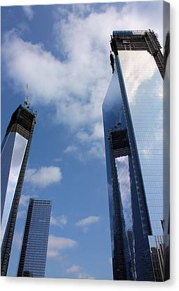 Twin Towers Canvas Print by Kristin Elmquist