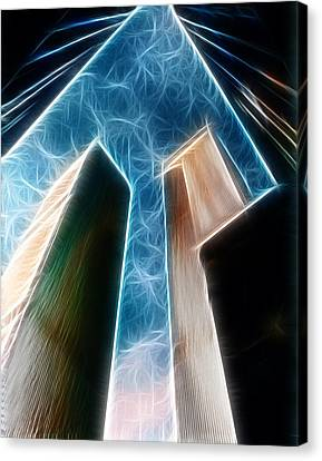 Twin Towers Canvas Print by Paul Ward