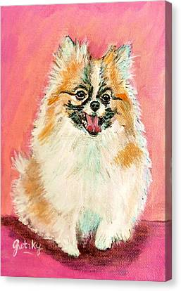 Twinki Gurl Canvas Print by Paintings by Gretzky