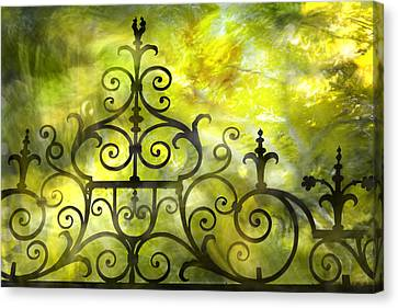 Twirling - Swirling  Canvas Print