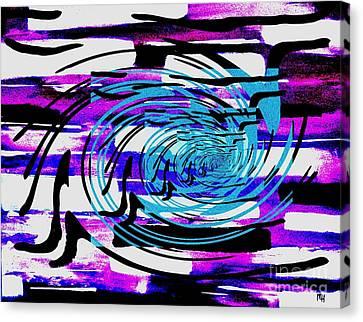 Twisted Canvas Print by Marsha Heiken