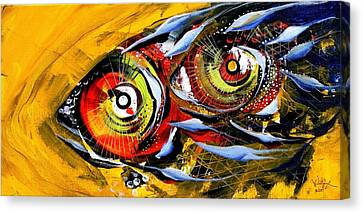 Two Around The World Canvas Print by J Vincent Scarpace