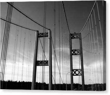 Two Bridges 2 Canvas Print by Tanya  Searcy
