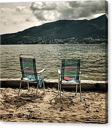 Two Chairs Canvas Print by Joana Kruse