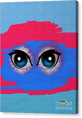 Two Eyes Canvas Print by Rod Seeley