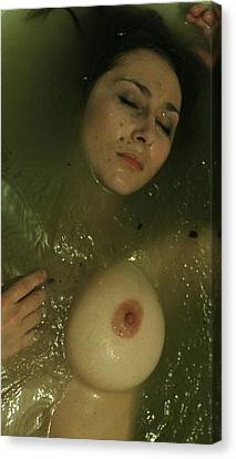 Hot Nurses Canvas Print - Two-faced by Svetlana  Sokolova