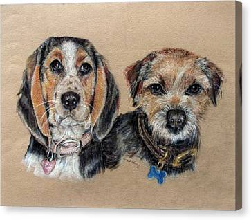 Two Friends Canvas Print by Tanya Patey