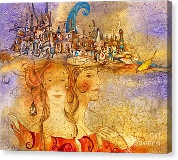Grace Canvas Print - Two Graces by Svetlana and Sabir Gadghievs