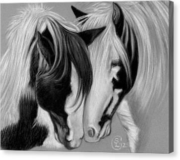Two Gypsies Canvas Print by Stephanie L Carr