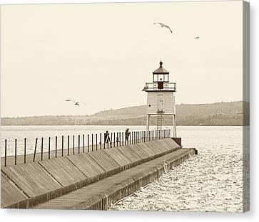Two Harbors Canvas Print