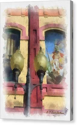 Two Lights Canvas Print by Dale Stillman