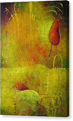 Two Red Objects Canvas Print
