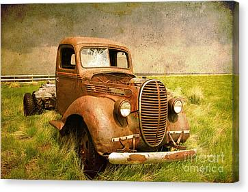 Two Ton Truck Canvas Print